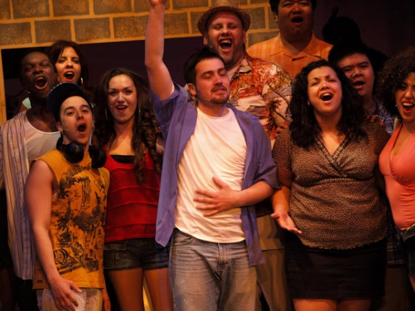 Photo Flash: First Look at Gonzalo Valencia, Gina Naomi Baez and More in IN THE HEIGHTS