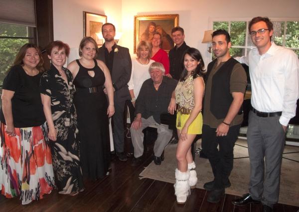 Class & Cast - Anna Raner, Alison Brush, Angela Perlinger Gleason, Brian Carroll, Ilene Graff, Joyce Malloy, Ben Lanzarone, B. Harlan Boll, Romi Dames, Johnny Cannizzaro and Matt Boone.