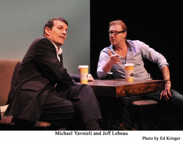 BWW Reviews: YEARS TO THE DAY Shares 80 Frenetic Minutes of Conversation Between Two Old Friends