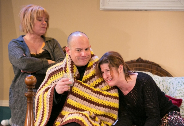Paige Larson as Mary, Kurt Brighton as Mike & Lisa DeCaro as Teresa