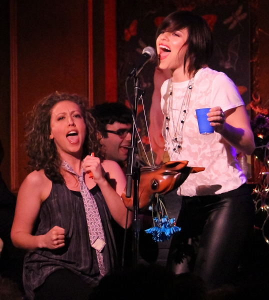 MK Lawson and Krysta Rodriguez Photo