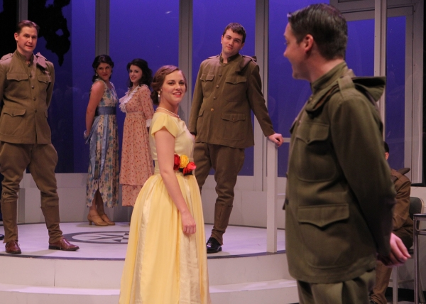 Zelda (Kendall Anne Thompson) catches the eye of Scott (Bradley Beahen) at a dance in Photo