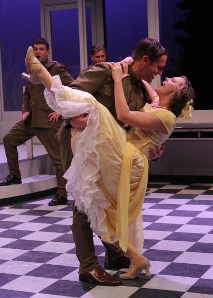 Scott (Bradley Beahen) dances with Zelda (Kendall Anne Thompson) during their first m Photo
