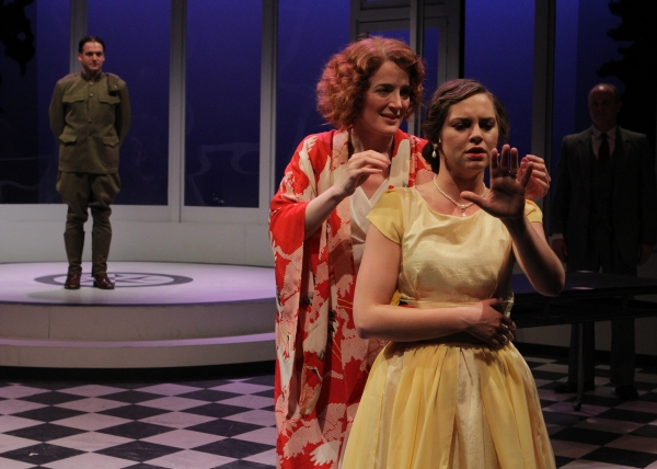 Zelda (Norah Long) reminisces about the night she (Kendall Anne Thompson, playing You Photo