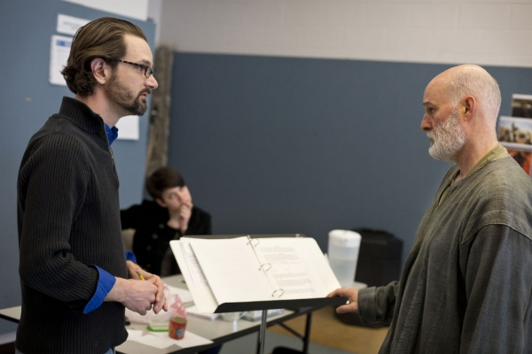 Photo Flash: Sneak Peek at Stephen Yoakam in Rehearsals for Guthrie's AN ILIAD