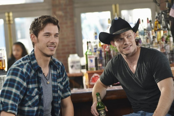 Sam Palladio, Chris Carmack