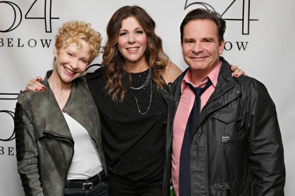 Tracy Shayne and Peter Scolari, Rita Wilson