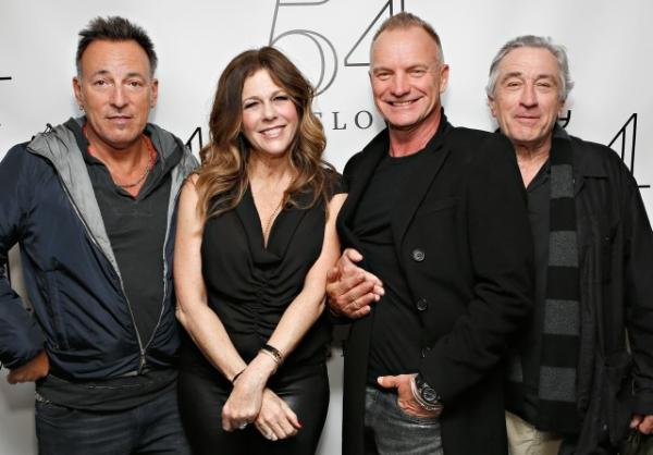 Bruce Springsteen, Robert DeNiro, Rita Wilson