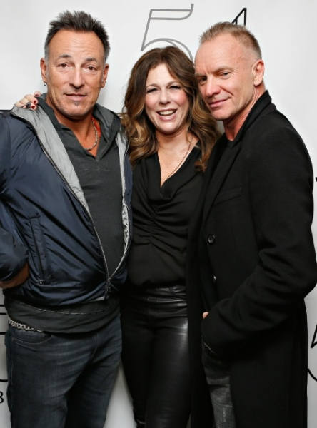RITA WILSON with BRUCE SPRINGSTEEN and STING