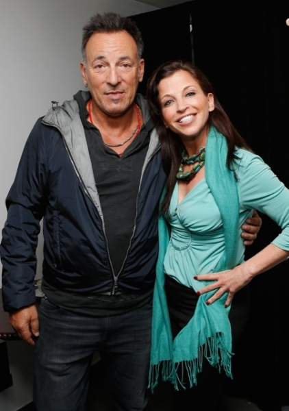 BRUCE SPRINGSTEEN and WENDY DIAMOND