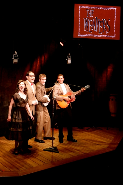 Sylvie Davidson as The Lady, Nicholas Mongiardo-Cooper as The Preacher, Justin Flagg as The Lonesome Traveler, and Brendan Willing James as The Poet.