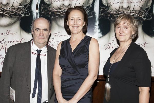 Colm Toibin, Fiona Shaw and Deborah Warner Photo