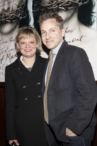 Martha Plimpton and Tom Pye