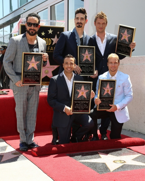 A.J. McLean, Howie Dorough, Kevin Richardson, Nick Carter and Brian Littrell