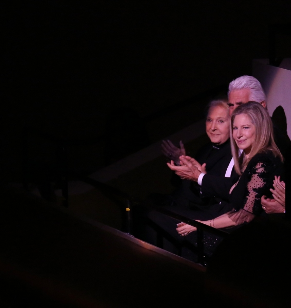 Marilyn Bergman, James Brolin & Barbra Streisand Photo