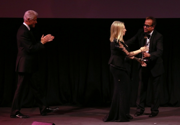 Bill Clinton, Barbra Streisand & Richard Jay Alexander