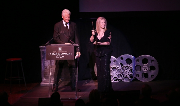 Bill Clinton & Barbra Streisand