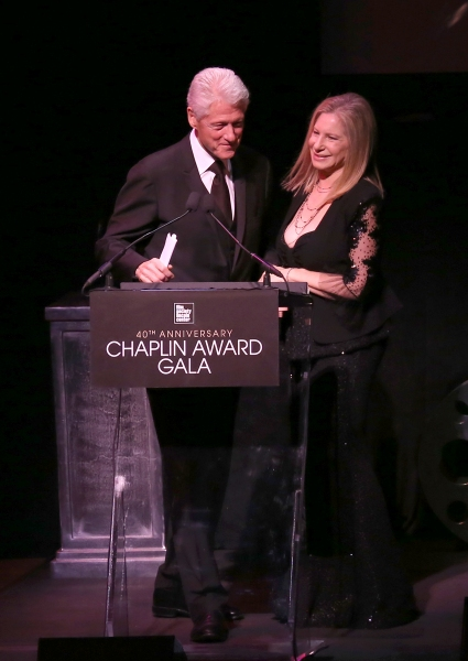 Bill Clinton & Barbra Streisand