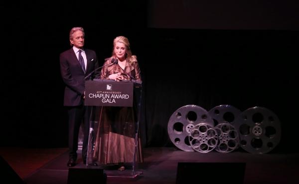 Michael Douglas & Catherine Deneuve Photo