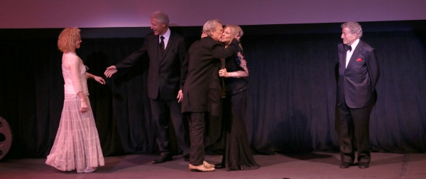 Amy Irving, Bill Clinton, Kris Kristofferson , Barbra Streisand, Tony Bennett