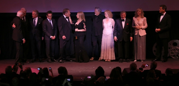Alan Bergman, Bill Clinton,  George Segal, Michael Douglas, Ben Stiller, Barbra Streisand, Kris Kristofferson, Amy Irving, Tony Bennett, Blythe Danner & Pierce Brosnan