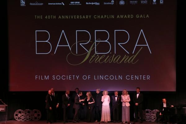 Alan Bergman, Bill Clinton,  George Segal, Michael Douglas, Ben Stiller, Barbra Streisand, Kris Kristofferson, Amy Irving, Tony Bennett, Blythe Danner & Pierce Brosnan