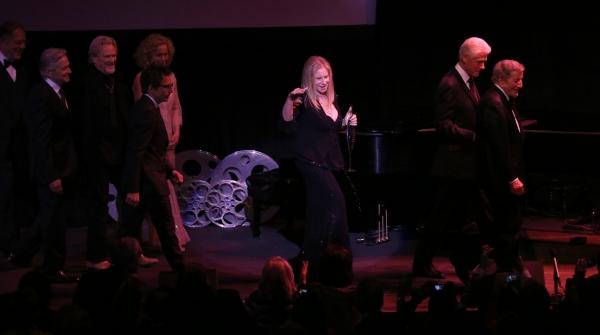 George Segal, Michael Douglas, Kris Kristofferson, Ben Stiller, Amy Irving, Barbra Streisand, Bill Clinton & Tony Bennett