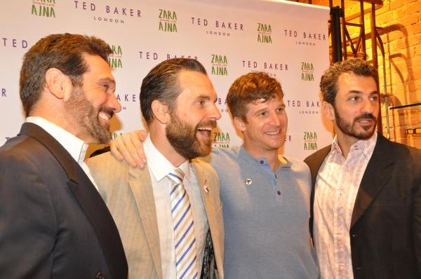 Anthony Crivello, Lucas Caleb Rooney, Brad Fleischer and Michael Aronov Photo