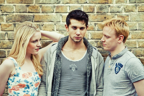 Photo Flash: Sneak Peek at Michael Vinsen, Ross William Wild and Lilly-Jane Young in BARE
