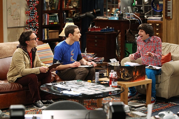 Johnny Galecki, Jim Parsons, Simon Helberg