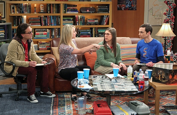 Johnny Galecki, Kaley Cuoco, Mayim Bialik, Jim Parsons