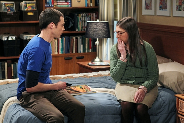 Jim Parsons, Mayim Bialik Photo