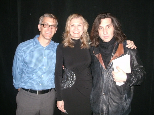 Trevor Hay, Mona Golabek and Hershey Felder Photo