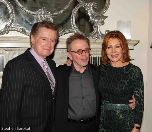 Regis Philbin, Paul Williams, Joy Philbin