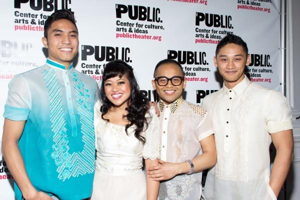 Trevor Salter, Renee Abulario, Jeigh Madjus, Joshua Dela Cruz Photo