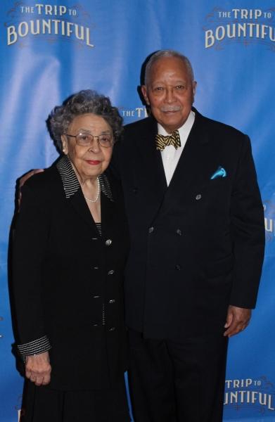 Joyce and David Dinkins