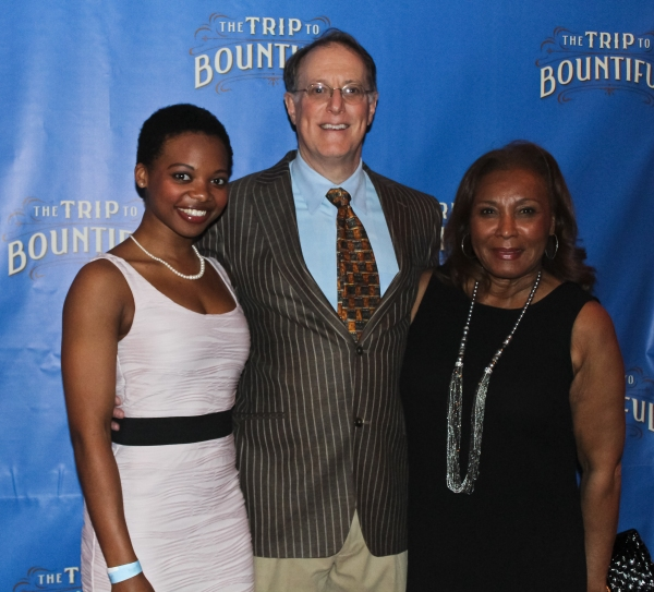 Susan Heyward, Bill Kux and Pat Bowie