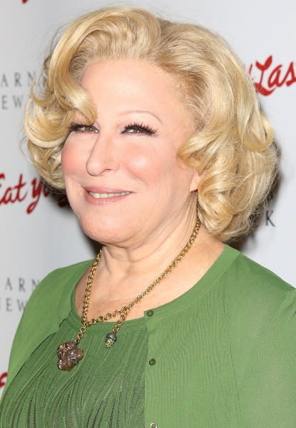 Photo Coverage: Bette Midler's I'LL EAT YOU LAST Opening Night Press Reception