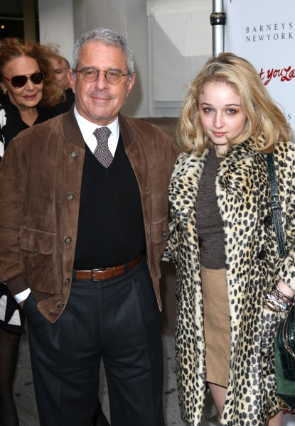 Ron Meyer & daughter