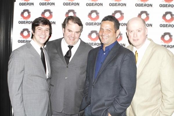 Alex Dinelaris & Cast Photo