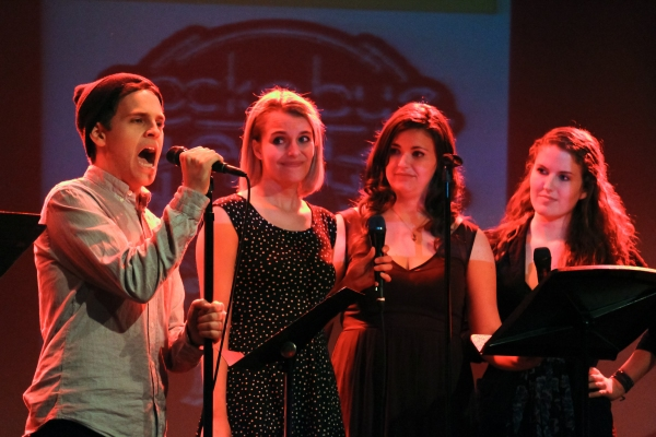 Taylor Trensch, Danielle Gimbal, Amanda Michelle Savan, and Monet Julia Sabel