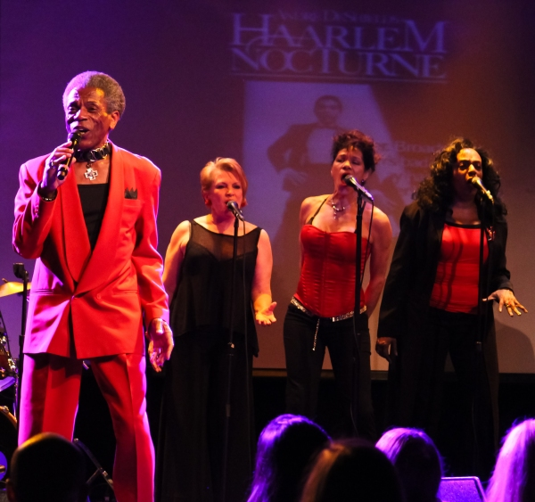Andre DeShields, Bertilla Baker, Marlene Danielle and Freida Williams