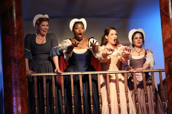 Alissa Anderson, Michelle Johnson, Julia Engel, and Patricia Cay. Photo by Kinjo Yonemoto.