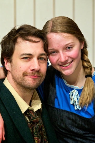 Philip Guerette and Eleanor Strut Photo