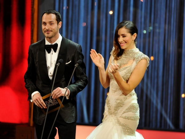 Presenters Declan Bennett and Zrinka Cvitesic, the stars of Once