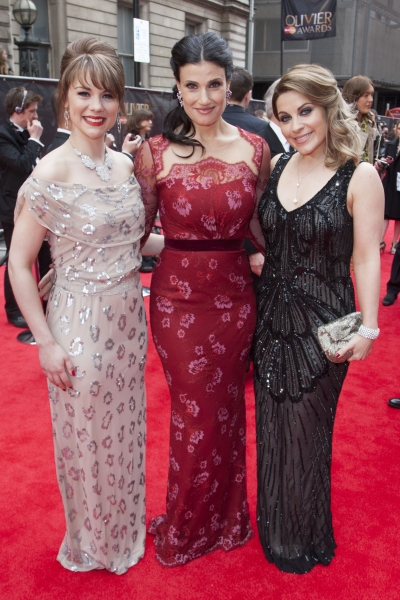 Gina Beck, Idina Menzel and Louise Dearman