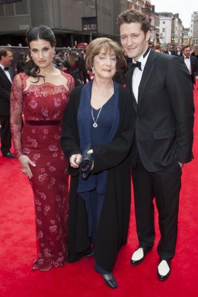Idina Menzel, Gillian Lynne and Matthew Morrison