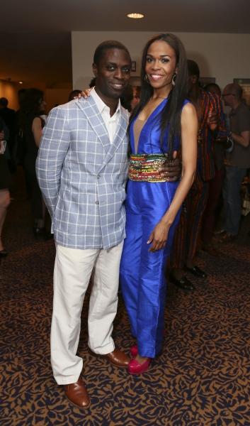 Cast members Adesola Osakalumi and Michelle Williams