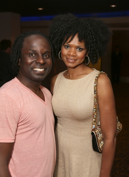 Cast member Gelan Lambert and actress Kimberly Elise