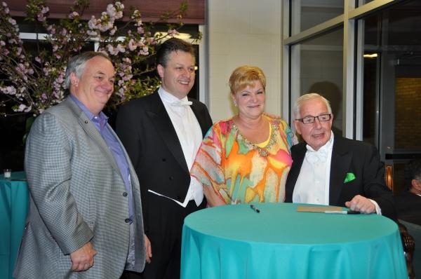 Richard Taylor, Anthony Kearns, Aleta Taylor and Patrick Healy Photo